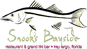Snook's Bayside Restaurant, Grand Tiki Bar, Key Largo, FL